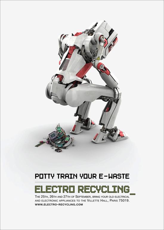 ewaste recycling ad