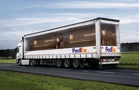 Fed Ex Pickaback UPS