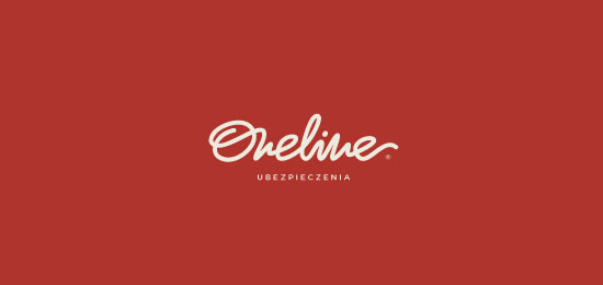 collection of 46 beautiful logos using handwriting fonts