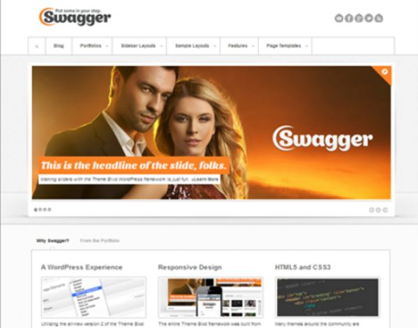 best wordpress themes swagger