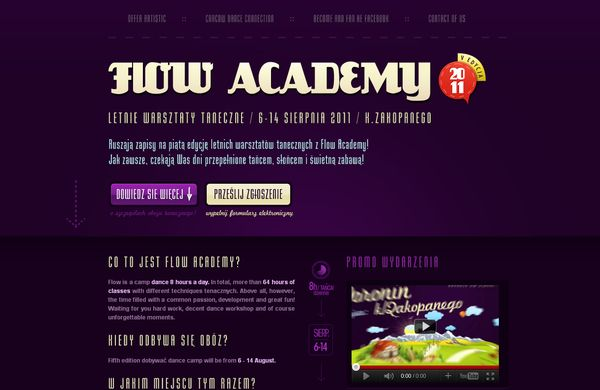 17 50 Inspirational Websites Powered By HTML5