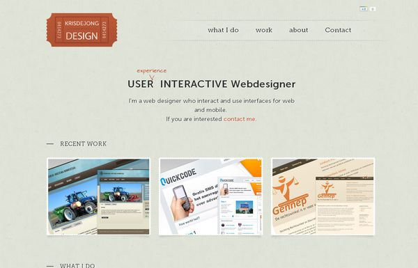 32 50 Inspirational Websites Powered By HTML5