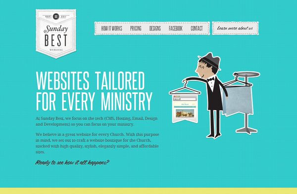 4 50 Inspirational Websites Powered By HTML5