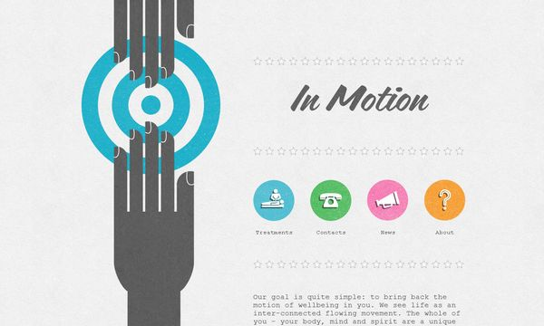 6 50 Inspirational Websites Powered By HTML5