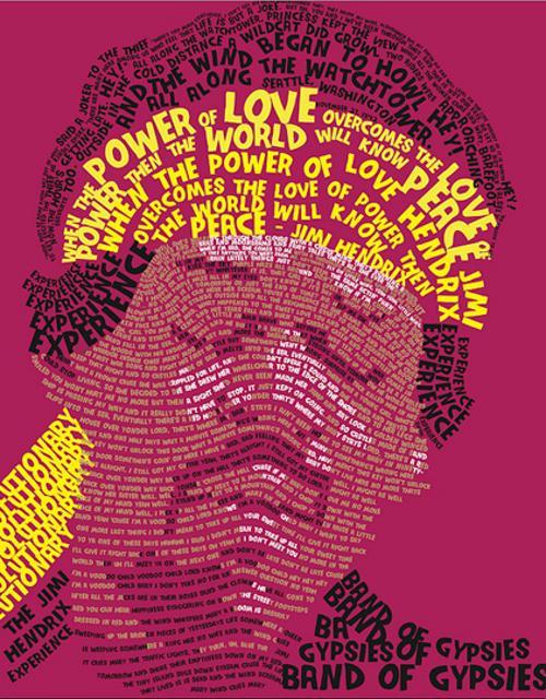 80 Amazing Examples of Typography Portrait - 56pixels.com