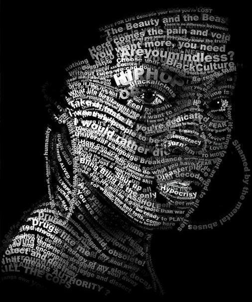 80 amazing exles of typography portrait 56pixels com