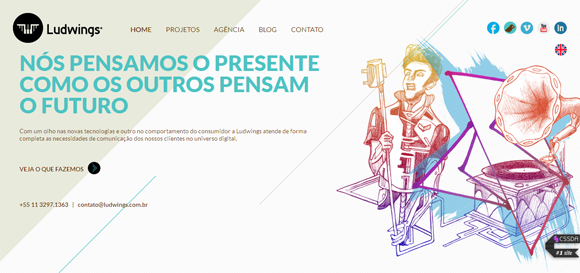 Awesome Parallax Scroll Websites