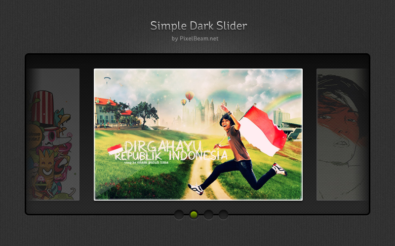 56pixels.com » Dark slideshow PSD