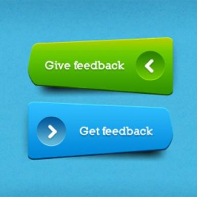 Green Blue clear buttons_PSD