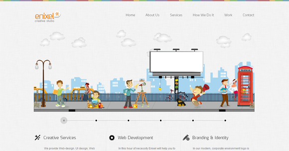 45 Best Inspirational Examples of HTML5 Websites Designed