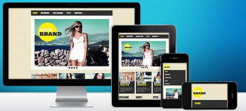 Responsive Design Templates. interior design responsive website ...