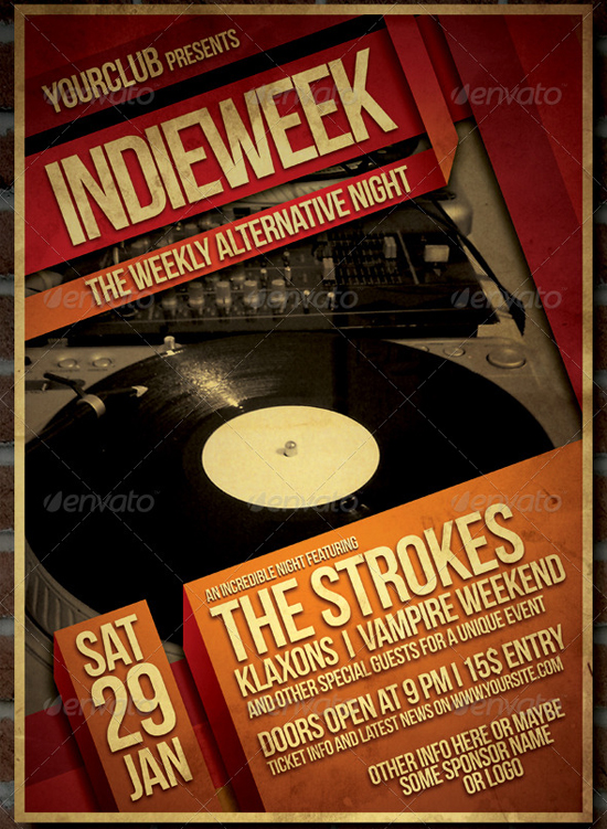 Indie Flyer Poster