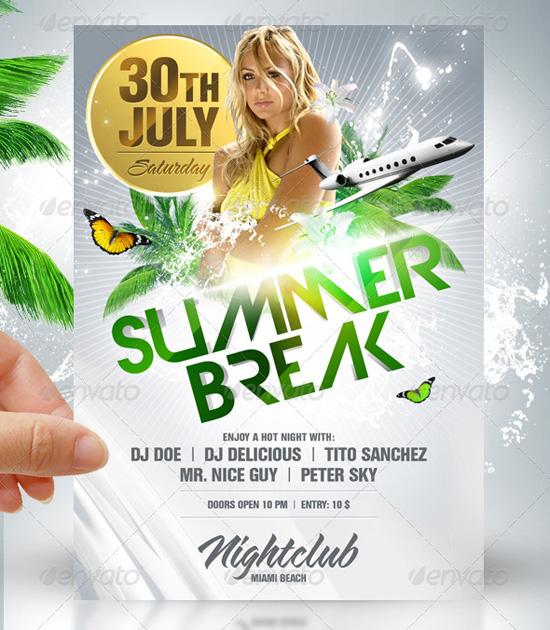 free summer flyer template koni polycode co