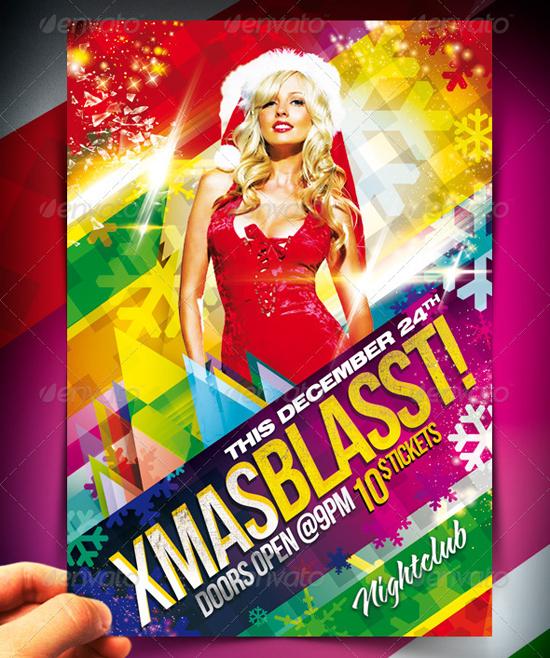 Xmas Blasst Party Flyer