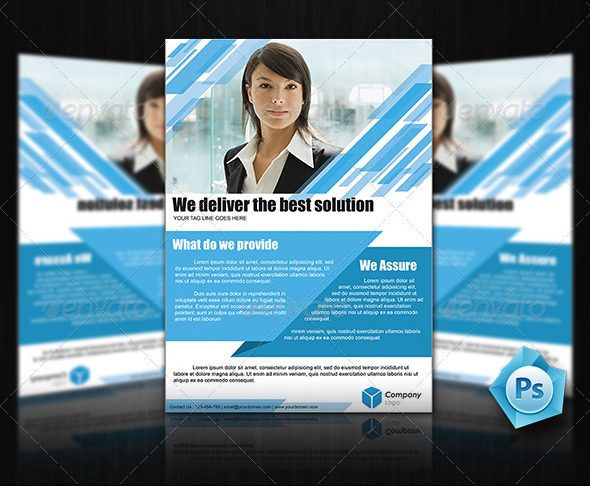 Professional Flyer Templates For Multi Purpose Business - Professional flyer templates