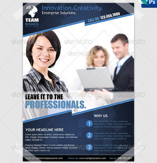 Top Corporate  Business Flyer Templates  PixelsCom