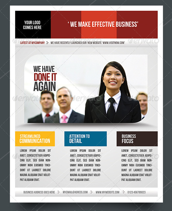 Free business flyer templates friedricerecipe Choice Image