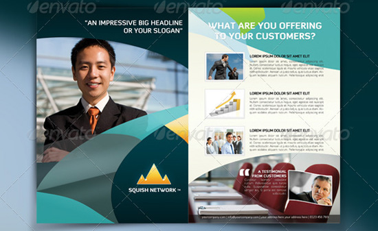 Top Corporate Business Flyer Templates – Corporate Flyer Template