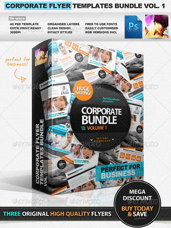 Top Corporate Business Flyer Templates 56pixels