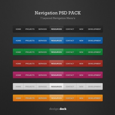 2-Variations-of-Navigation-PSD-Pack