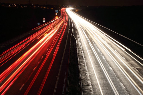 Drive long exposure photography
