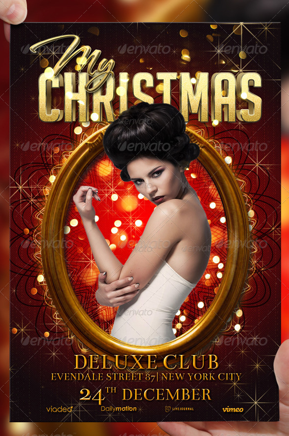 My Christmas Flyer Template