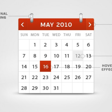Attractive-Calendar-PSD