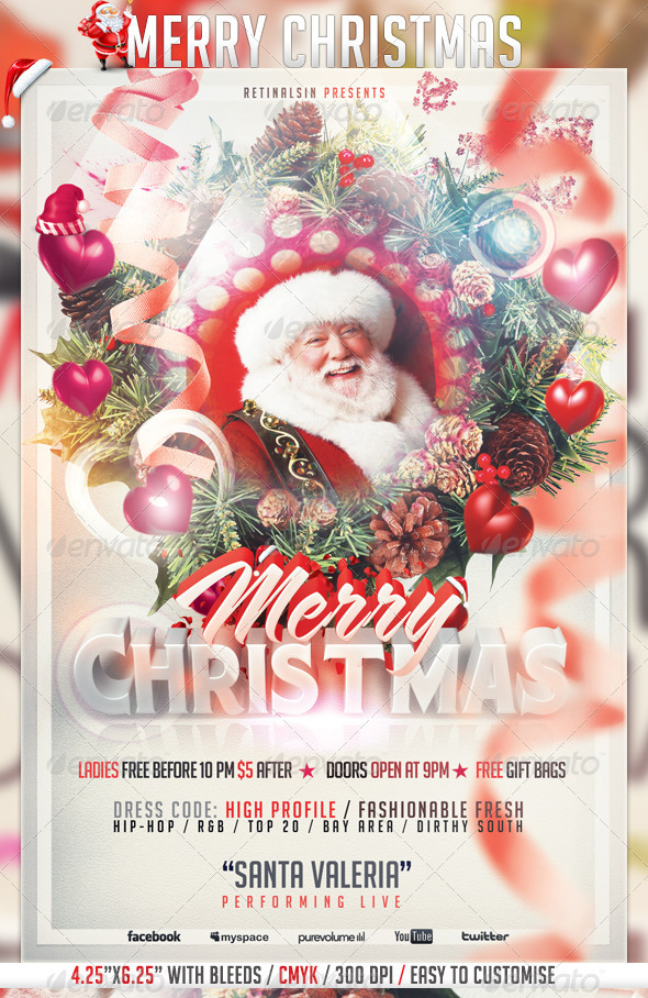 best christmas flyer templates for 2012. Black Bedroom Furniture Sets. Home Design Ideas
