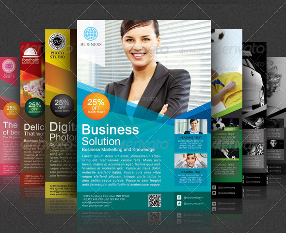 Best corporate and business flyer template 56pixels modern business flyer template accmission