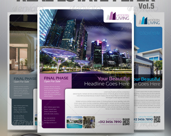 Real Estate Flyer Vol.5
