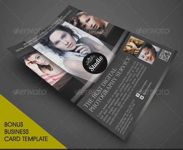 imple Photographer Flyer Template