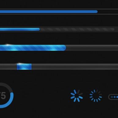 Blue-Status-Bars