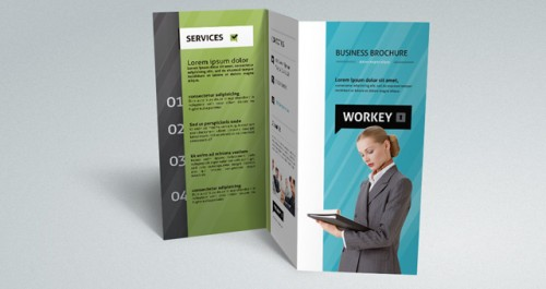 Brochure Templates With PSD INN File – Illustrator Brochure Template