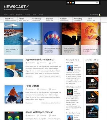 newscast-magazine-theme