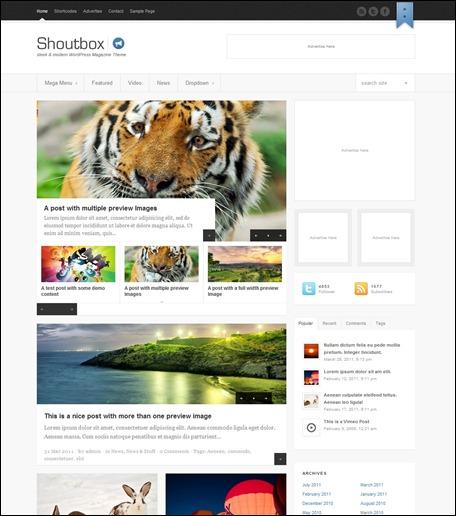 shoutbox-magazine-theme