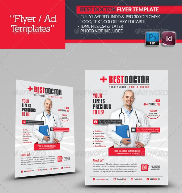 Fantastic Indesign Flyer Templates  PixelsCom