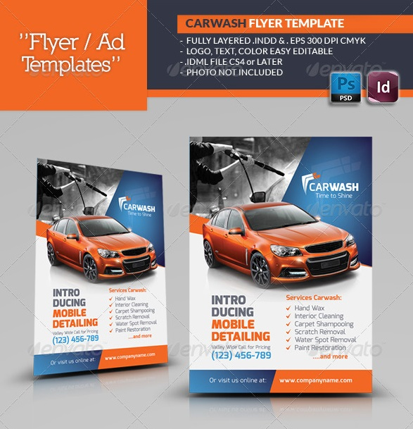 Fantastic Indesign Flyer Templates | 56Pixels.Com