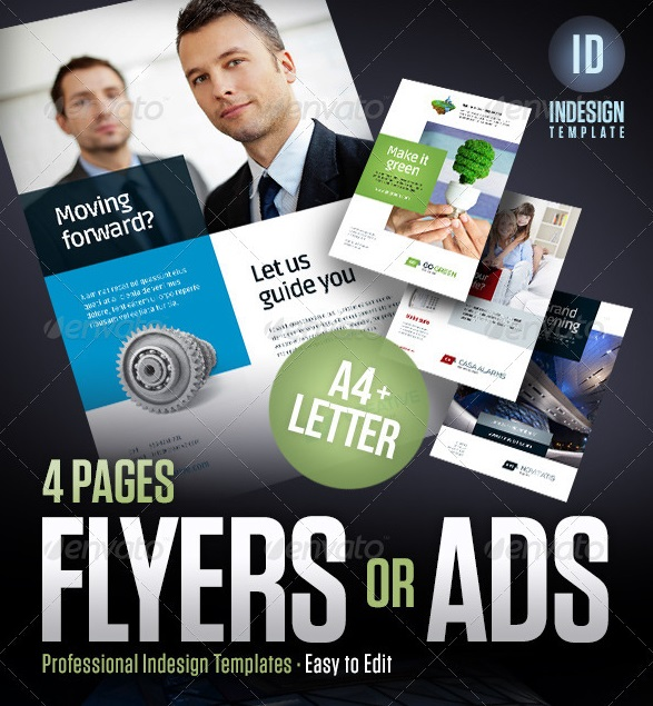 flyers, magazine ads, posters, product sheets