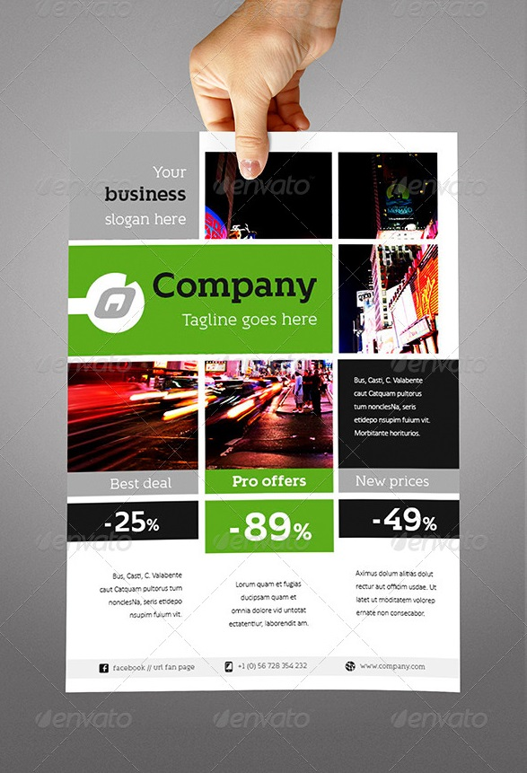 Fantastic indesign flyer templates for Indesign brochure templates free