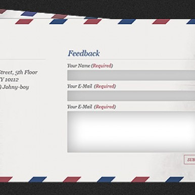 Mail-Feedback-Form-Envelope-Design