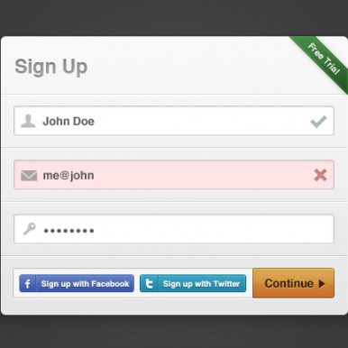 Sign-up-Modal-Box