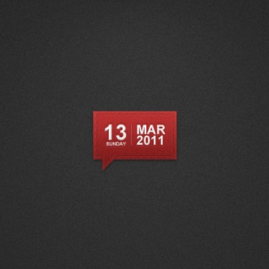 Texturized-Date-indicator
