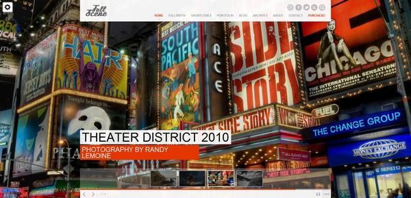 full screen portfolio wordpress theme 21