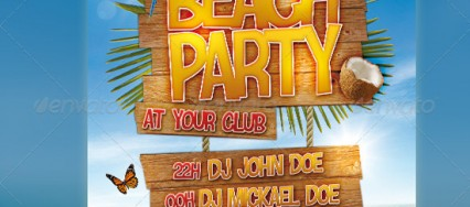 beach-party-flyer