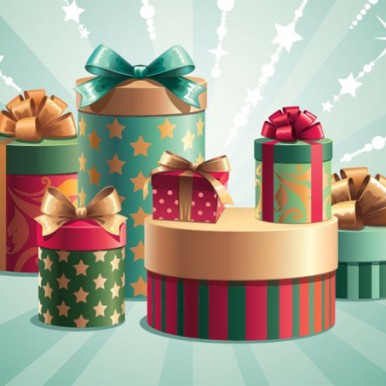 Christmas-Gift-Boxes-Vector-Illustration