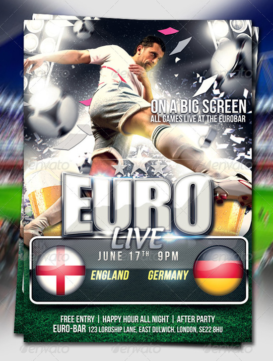 Euro Cup Flyer Template