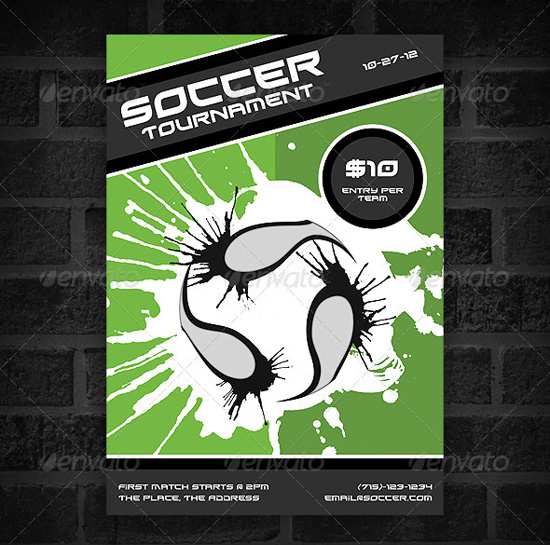 Top 20 Soccer Football Flyer Templates 56pixels