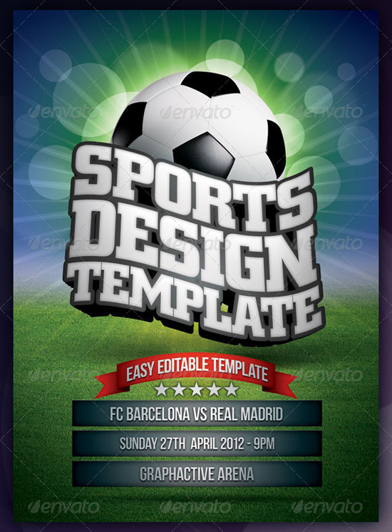 Sports Poster Design Template