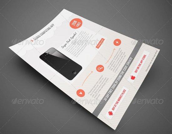 business flyer template 17