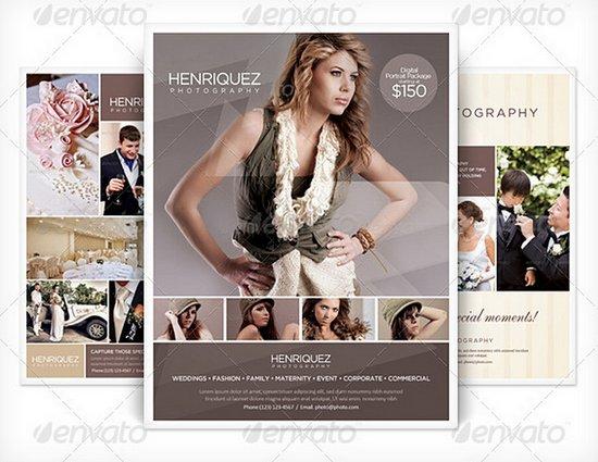 business flyer template 18